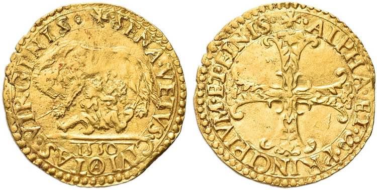SIENA - Repubblica, 1404-1555. ...