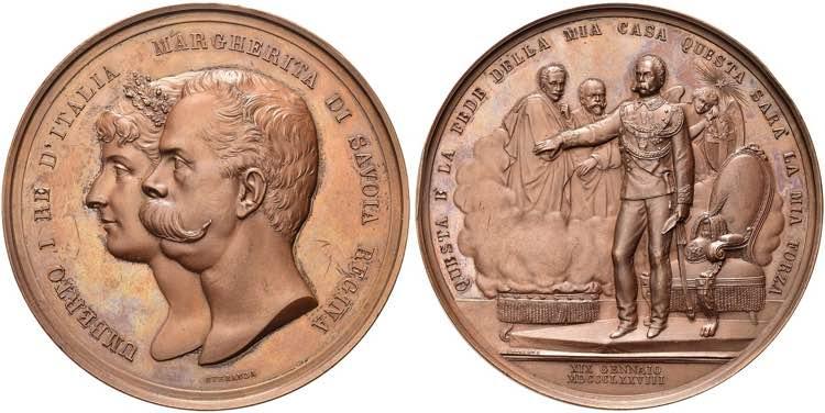 ROMA - Umberto I, 1878-1900. ...